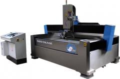 Machines of hydroabrasive cutting of PTV