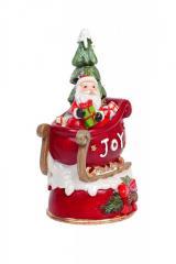Декоративная музыкальная статуэтка Деда...