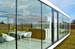 Modular, compact, prefabricated, mobile, modern
