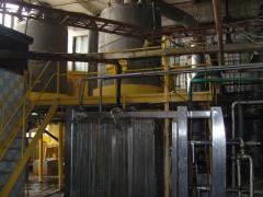 The drying apparatus for milk (Slovakia) VRA-4