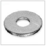 Washers flat of constructional galvanized steel,