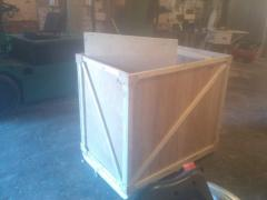 Plywood boxes,