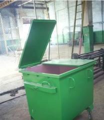 Производство контейнеров для мусора различных