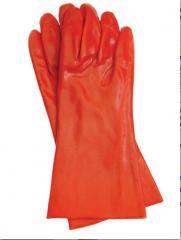 Перчатки защитные ПВХ, купить