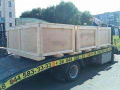 Boxes plywood for the equipmen