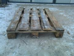 The pallet 1200 x 800 disposable new, is executed