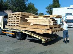 Pallets for krupnogadaritny freights