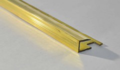 Профиль для плитки / ламината латунь Pawotex 10 мм