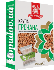 Крупа гречана в пакетиках,  5 * 80 г