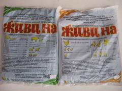Живина (животные) добавка витаминно - минеральная