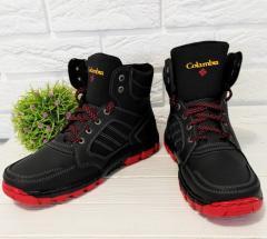 Мужские зимние ботинки утепленные львовского...