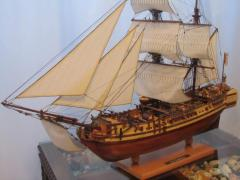 Exact copy of the Spanish sailing vessel,