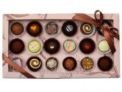Chocolates in boxes