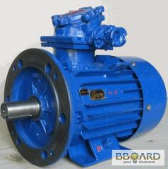 Electric motor AIU200M4 IM1081 explosion-proof for