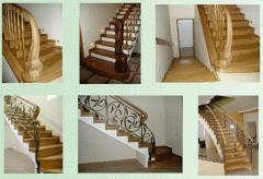 Деревянные лестницы из ценных пород дерева - из