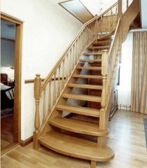 Лестницы на титевах, лестницы декоративные
