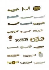 Мебельные ручки GIUSTI. Коллекции: Decor, Glamour,
