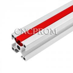Заглушка пазовая, паз 6 мм, 2000 мм, красный