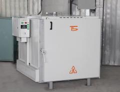 El electrohorno sushilnaya SNO-8.6.8/4 И1 la de cámara de alta temperatura para el tratamiento térmico, el secamiento etc. los procesos térmicos con la temperatura hasta 400 Con, pr-en Bortek, Borispol, Ucrania
