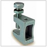 Clamps assembly M8, a bracket for installation of