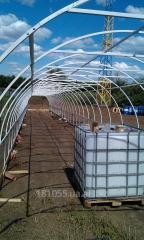 Теплицы под поликарбонат и под плёнку 3х6х2.1м
