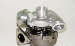 Новая турбина OPEL ASTRA/VECTRA/ZAFIRA, Y22DTR, (2002), 2.2D, 92/125