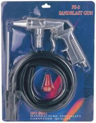 Пистолет пескоструйный пневматический со шлангом PS-3 AUARITA