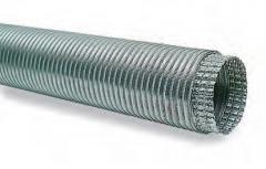 Filcar ALLUFLEX-200 - Противопожарный гибкий шланг диаметром 200 мм и длиной 1 метр