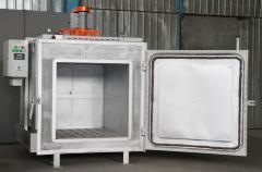 電気乾燥機 SNO-8.6.8/4 E1 高温熱処理室、乾燥、等。最大 400 c、Bortek、リヴィウ、ウクライナの熱過程します。