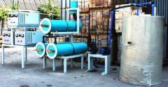 Bloková elektrolýza pro dezinfekci vody Flame-2