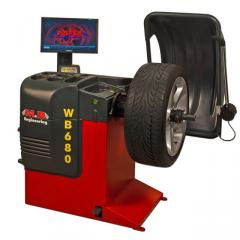 Стенд балансировочный, автомат M&B ENGINEERING WB 680