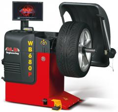 WB 680P 1/230/50 LAZER-LED Балансировочный станок M&B Engineering