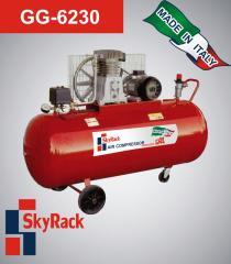 Компрессор поршневой ременной повышенного давления 500л 380В Skyrack