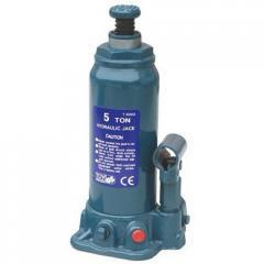 Домкрат бутылочный 5т (216-413 мм) TORIN