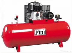 Компрессор 14 бар 500 л/мин BK-119-500F-7.5 FINI