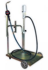 Комплект для маслораздачи с насосом и тележкой