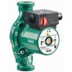 Pumps are vertical. Circulation pulser WILO