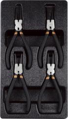 Набор клещей для снятия стопорных колец , 4 предмета T28953 AmPro