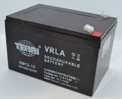 Аккумулятор 12v 10a SLA 151*98*95 мм DB12-10 TERRI