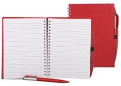 Notebook on a spiral (A7, 96 sheets.)