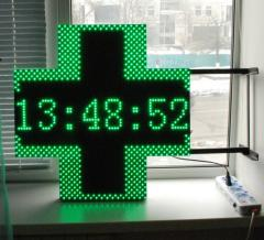 Pharmaceutical cross a bilateral, LED cross for a