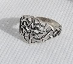 """Серебряное кольцо """"Кельтский узел"""""""