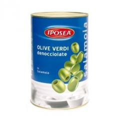 I SAPORI Olive schiacciate - green olives with