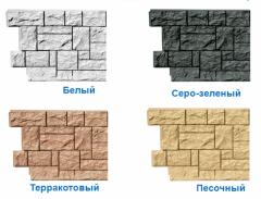Фасадные панели FineBer (цокольный сайдинг) Россия