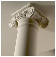Columns are decorative