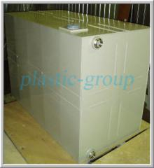 Water storages. Tanks are polyethylene food