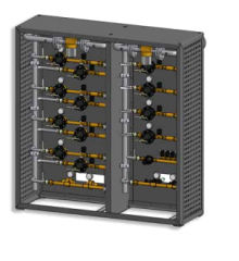 Modular panel systems for a gas supply on MNLZ,