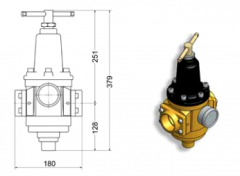 Pressure reducers for system of distribution of