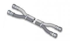 The self-extinguished elastic hoses