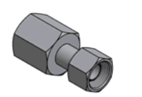 Reducers and fitting with a thread for gas-oxygen